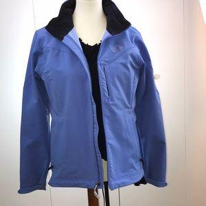 Mountain Hard Wear M jacket blue 3 zipper pockets